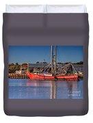 Three Princess Schrimpboat Duvet Cover