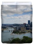 Three Rivers Duvet Cover