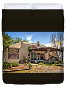 Three Rivers Trading Post Duvet Cover
