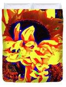 Three Sunflowers Duvet Cover