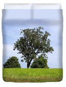 Three Tree Hill Duvet Cover