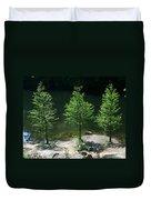 Three Trees Of Ohio Duvet Cover