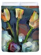 Three Tulips Duvet Cover