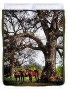 Three Under A Tree Duvet Cover