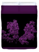 Three Very Purple Lilacs Duvet Cover
