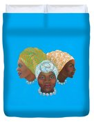 Three Women Duvet Cover