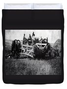 Threshing Day Duvet Cover