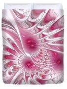 Through Rose-colored Glasses Duvet Cover