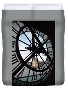 Through The Clock Duvet Cover