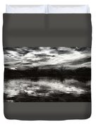 Through The Darkness Duvet Cover