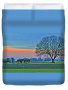 Through The Fields Duvet Cover