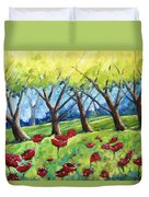 Through The Meadows Duvet Cover