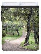 Through The Oaks Duvet Cover