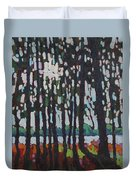 Through The Opinicon Forest Duvet Cover