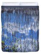 Through The Reeds Duvet Cover