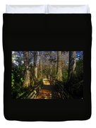 Through The Swamp Duvet Cover