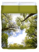 Through The Tree Tops Duvet Cover