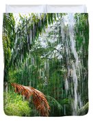 Through The Waterfall Duvet Cover