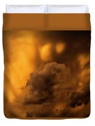 Thunder Storm Sunset #8324 Duvet Cover