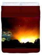 Thunderstorm Sunset Duvet Cover
