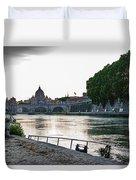 Tiber Walk Duvet Cover