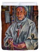 Tibetan Refugee Duvet Cover