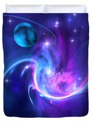 Tidal Forces Duvet Cover