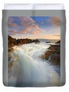 Tidal Surge Duvet Cover