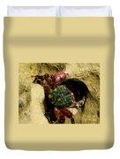 Tide Pool Crab 2 Duvet Cover