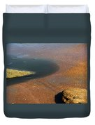 Tide Pool With Coquina Rock Duvet Cover