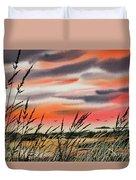 Tideland Sunset Duvet Cover
