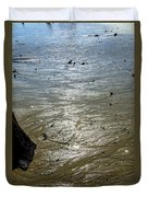 Tides Out After The Storm Duvet Cover