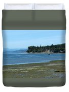 Tide's Out Duvet Cover