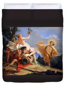 Tiepolo's Apollo Pursuing Daphne Duvet Cover