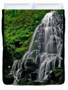 Tiered Falls Duvet Cover
