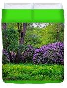 Tiergarten In Spring Duvet Cover