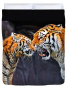 Tiger 05 Duvet Cover