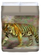 Save Tiger Duvet Cover