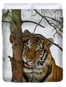 Tiger 3 Duvet Cover by Ernie Echols