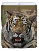 Tiger Abstract Duvet Cover