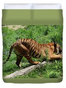 Tiger Clawed Duvet Cover