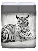 Tiger Cub At Rest Duvet Cover