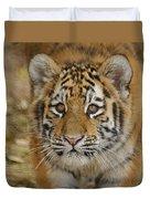 Tiger Cub Duvet Cover