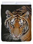 Tiger Hunting Duvet Cover