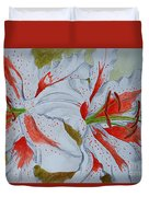 Tiger Lilly Duvet Cover