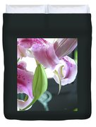 Tiger Lily Bud Duvet Cover