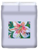 Tiger Lily Passion Duvet Cover