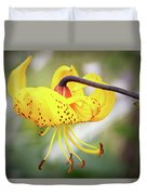 Tiger Lily. Duvet Cover