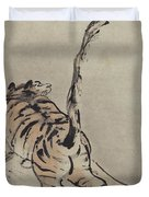 Tiger Painting Duvet Cover