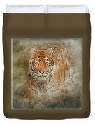Tiger Splash Duvet Cover